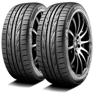 2 New Kumho Ecsta Ps31 205 45zr17 205 45r17 88w Xl Dc Performance Tires