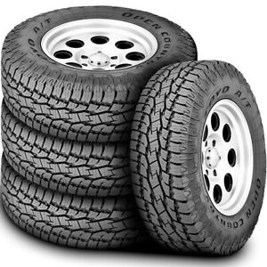 4 New Toyo Open Country A T Ii Lt 255 65r18 Load E 10 Ply At All Terrain Tires