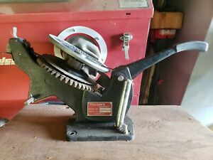 Roovers Embosser Metal Tape Tapewriter Machine Industrial Model T10a