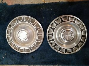 Ford Mustang Hubcaps Center Caps Vintage Antique Old Pony Car