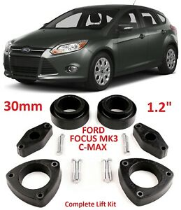 Lift Kit For Ford Focus 3 2010 2018 C Max 2010 2017 1 2 30mm Leveling