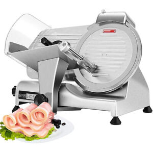 Vivohome Commercial Electric Meat Slicer 10 Blade 110v 320w 425 Rpm Food Cutter