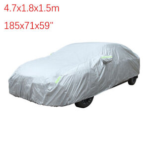 For Honda Civic Full Car Cover All Weather Indoor Outdoor Waterproof Custom Fit