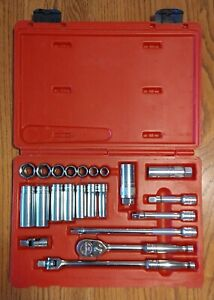 Snap On 222afsp 22 Piece 3 8 Drive 6 Point Sae General Service Socket Set