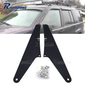 Upper Roof 54 Led Light Bar Mounting Brackets For Jeep Grand Cherokee Wk 05 10