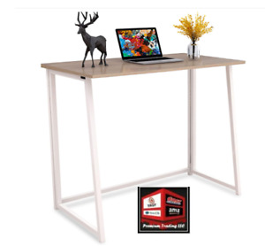 New 4nm Folding Desk No assembly Small Computer Desk Home Office c 9 5 ag140