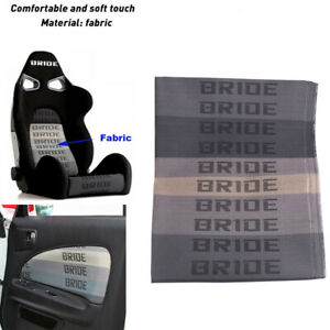 Bride Car Seat Fabric Cloth Racing Seats Cover Interior Decoration 1mx1 6m