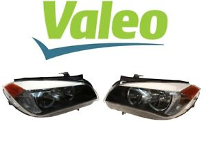 Valeo Set Of Left And Right Halogen Headlight Assembly For Bmw E84 X1 2013 2015