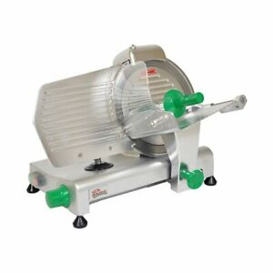 Primo Ps 10 Manual Feed Meat Slicer With 10 Blade Belt Driven