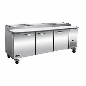 Ikon Ipp94 2d 94 Three Section Refrigerated Pizza Prep Table