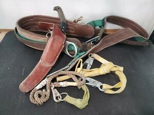 Buckingham Pole Climbing Belt Size xxl Q1329 With Extras tree Saw