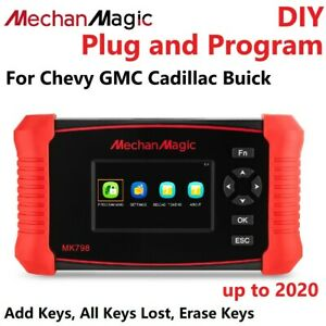 2020 Car Key Fob Programming Programmer Tool For Chevrolet Gmc Buick Cadillac