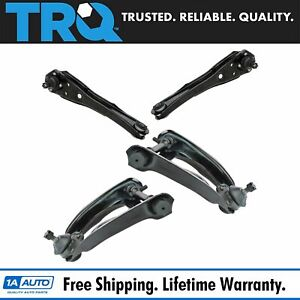 Trq Front Upper Lower Control Arms With Ball Joints For Ford Mercury New