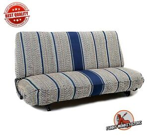 Saddle Blanket Truck Bench Seat Cover Fits Chevy Dodge Fordtrucks Navy