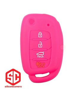 1x New Key Fob Remote Fobik Silicone Cover Fit For Hyundai