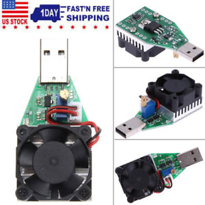 Electronic Load Resistor Usb Current Tester Discharge Battery Test Capacity New