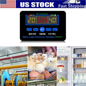 W1411 Digital Led Thermostat Temperature Humidity Controller For Egg Incubator