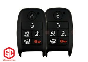 2x New Keyfob Remote Fobik Silicone Cover Fit For Select Kia Vehicles