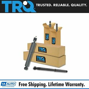 Trq Shock Absorbers Front Rear Kit Set Of 4 For Dodge Ram 1500 2500 3500 2wd