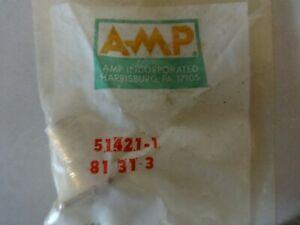 Amp 51421 1 Shv High Voltage Bnc Connector Panel Mount Male Lot Of 2