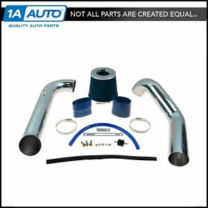 Performance Cold Air Intake Cai W Blue Air Filter For Honda Civic Cx Dx Lx New