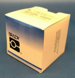Brand New Brady Ptl 72 461 Portable Thermal Label Clear white Labels roll 500