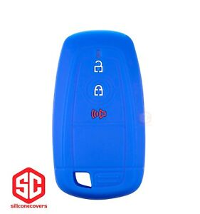 1x New Keyfob Remote Fobik Silicone Cover Fit For Select Ford Vehicles