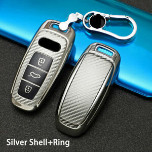 Tpu Car Remote Key Fob Case Cover For Audi A6l A7 A8 A8l E tron Q8 C8 19 2020