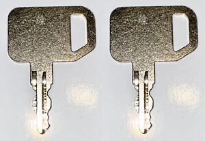New Holland Boomer Tractor Equipment Ignition Key Pair 2 New Fits Many Models