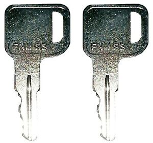 2 Ford New Holland Skid Steer Yale Forklift Equipment Ignition Key Best Quality