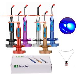 5w Dental Led Curing Light Lamp Wireless Cordless Resin Cure Machine 1500mw cm