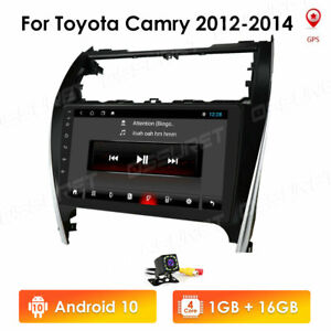 Android 10 Car Radio For 2012 2014 Toyota Camry 10 1 Stereo Gps Nav Head Unit