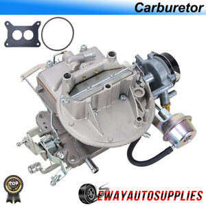 New Two 2 Barrel Carburetor Carb 2100 For Ford 289 302 351cu Jeep Electric Choke