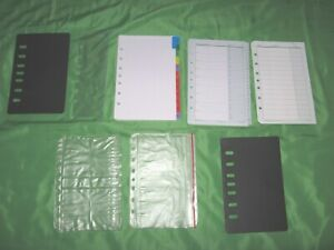 Classic Tab Page Accessory Lot Franklin Covey Planner Refill Fill Set 182