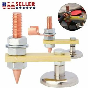 Usa Adjustable Welding Magnet Head Magnetic Welding Support Ground Clamp Holder