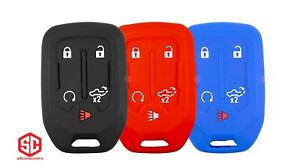 3x New Keyfob Remote Fobik Silicone Cover Fit For Select Gm Vehicles