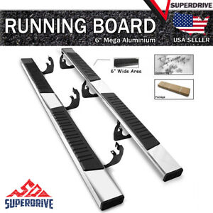 78 Long Chrome Mega Running Boards Fit 2019 2021 Gmc Sierra 1500 Extended Cab