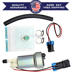 525lph F90000285 Hellcat Fuel Pump Install Kit E85 Compatible For Walbro T1