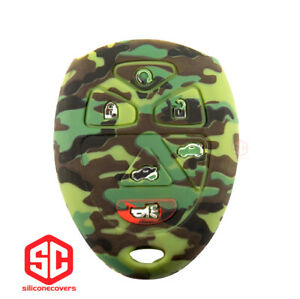 1x New Keyfob Remote Fobik Silicone Cover Fit For Select Gm Vehicles