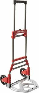 Milwaukee 150 lb 2 wheel Red Steel Folding Hand Truck New