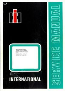 Case Ih 385 To 885 Incl Xl 248 To 278 Diesel Tractors Workshop Manual