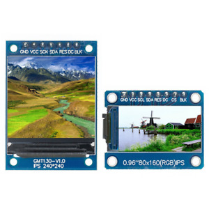 St7735 Drive Tft Display 0 96 1 3 Inch Ips 7p Spi Hd 65k Full Color Lcd Module