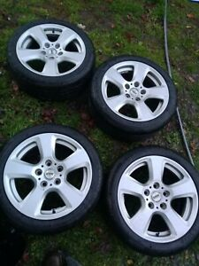 Bmw 5 Series Oem Rims And Tires Wheels 17