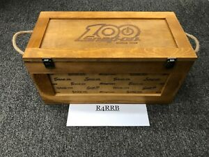 Snap on Tools New Limited 100th Year Anniversary Wood Storage Crate Box
