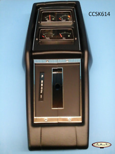 68 72 Nova Assembled Console Automatic Transmission With Factory Gauges