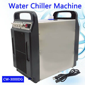 Industrial Chiller 8l Capacity 110v Thermolysis Laser Water Chiller Double Inlet