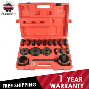 Front Wheel Drive Bearing Adapters Puller Bushing Press Removal Tools Set Fwd