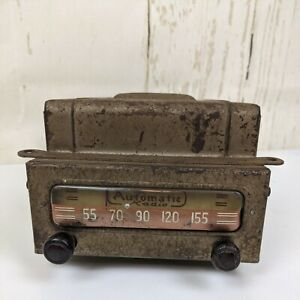 Vintage 1940s Automatic Am Radio Model M 86 6volt Rat Rod Chevy As Is Parts Only