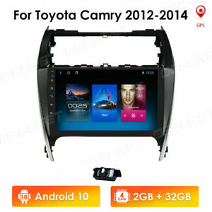 For 2012 2014 Toyota Camry 10 1 Android 10 1 Car Radio Stereo Gps Navi 2 32gb