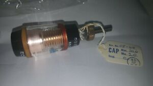 Jennings Vacuum Variable Ecs 30 15s Capacitor Nos From Western Electric Era New